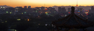 Sunset Light over Beijing