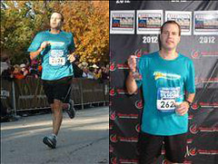 Corizon Employee goes from Biggest Loser to competing in a 1/2 marathon