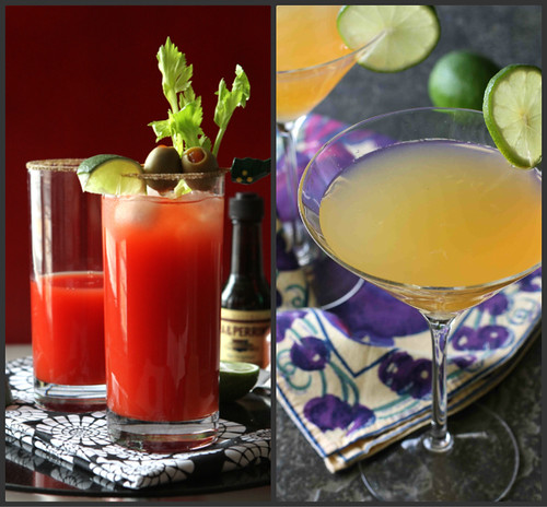 CocktailCollagNew Year's Eve Recipes: Cocktails and Appetizerse2