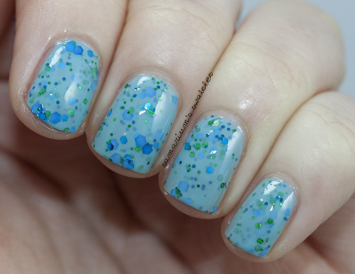 Jindie Nails Honey Blue Blue (2)