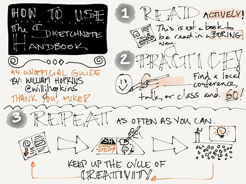 How to use The Sketchnote Handbook