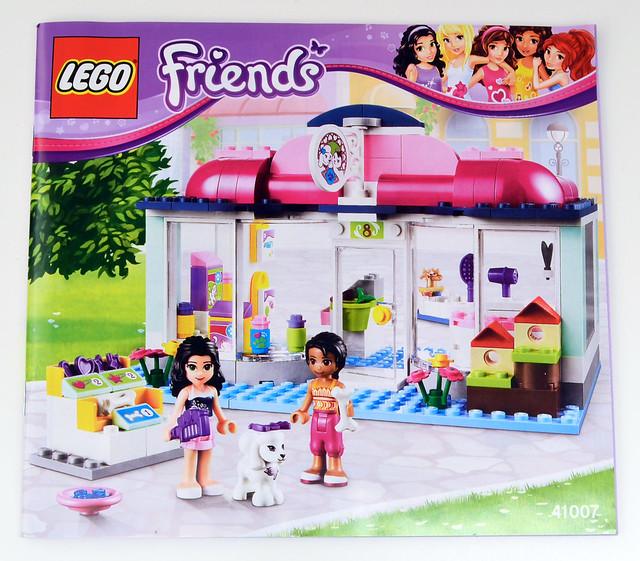 Lego Friends Instruction City Park Cafe