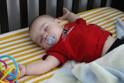 Elliott's Sleeping Style
