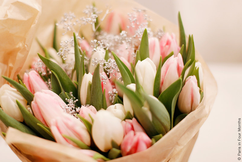 Pretty Tulips by Carin Olsson (Paris in Four Months)
