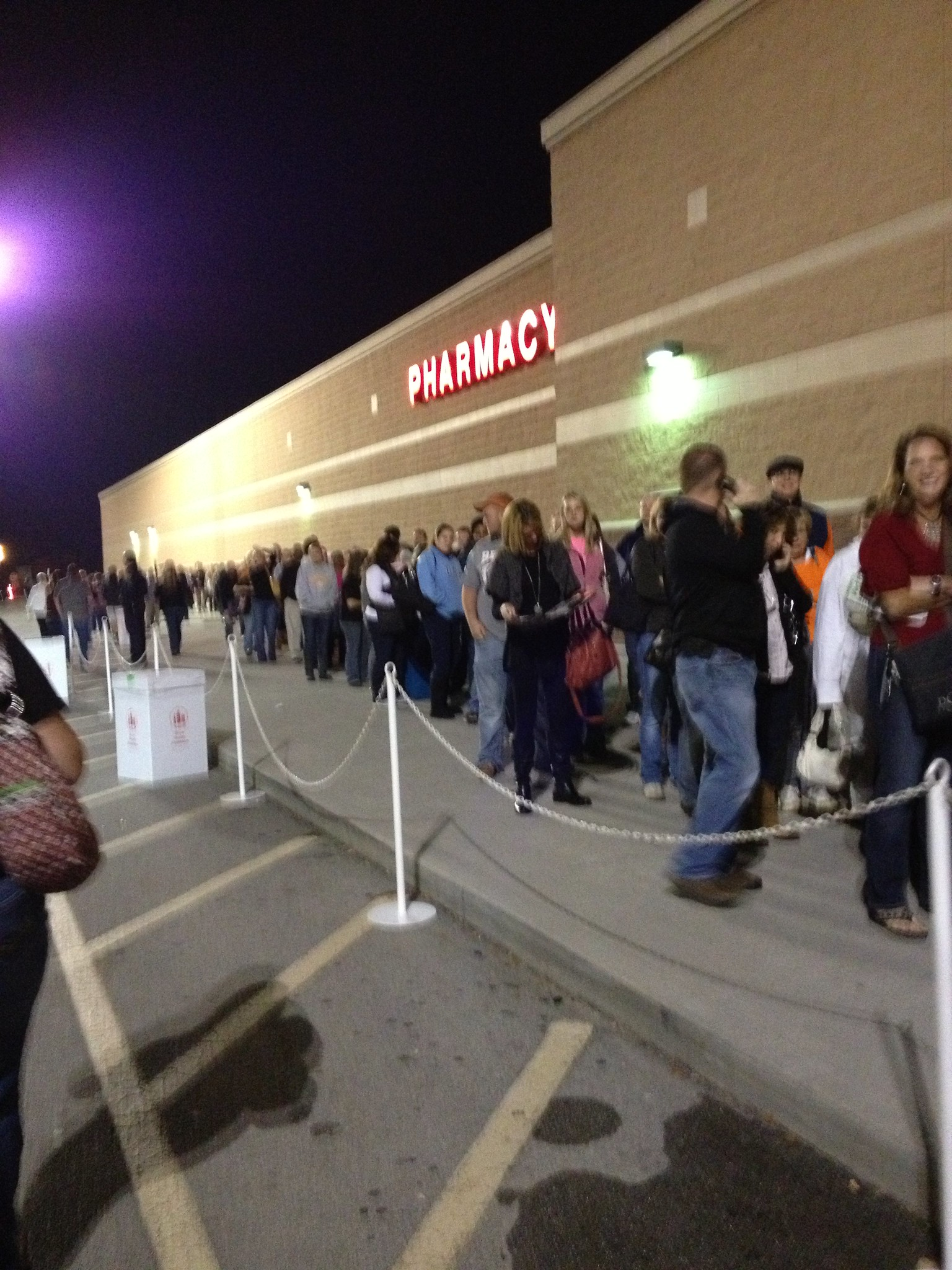 Seems Black Friday just turned into Black Thursday night.