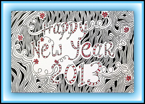 Happy New Year 2013 by Poppie_60_Season's Greetings! and Happy New Year :