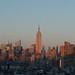 Panoramic Skyline of New York City by Brian J. Geiger