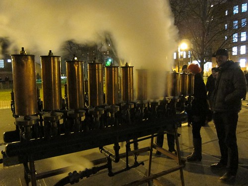 Pratt Steam Whistles, New Year's Eve 2012