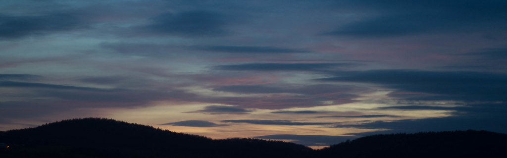 Last sunset of 2012
