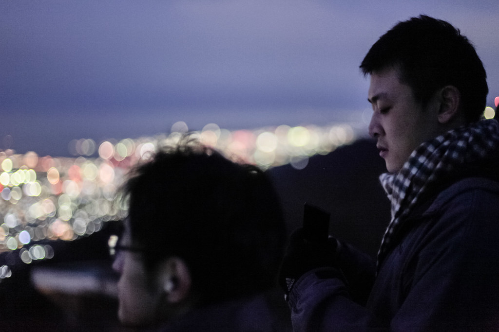 Uzumoridai 4 Chome, Kobe-shi, Higashinada-ku, Hyogo Prefecture, Japan, 0.1 sec (1/10), f/1.4, 50 mm, EF50mm f/1.4 USM