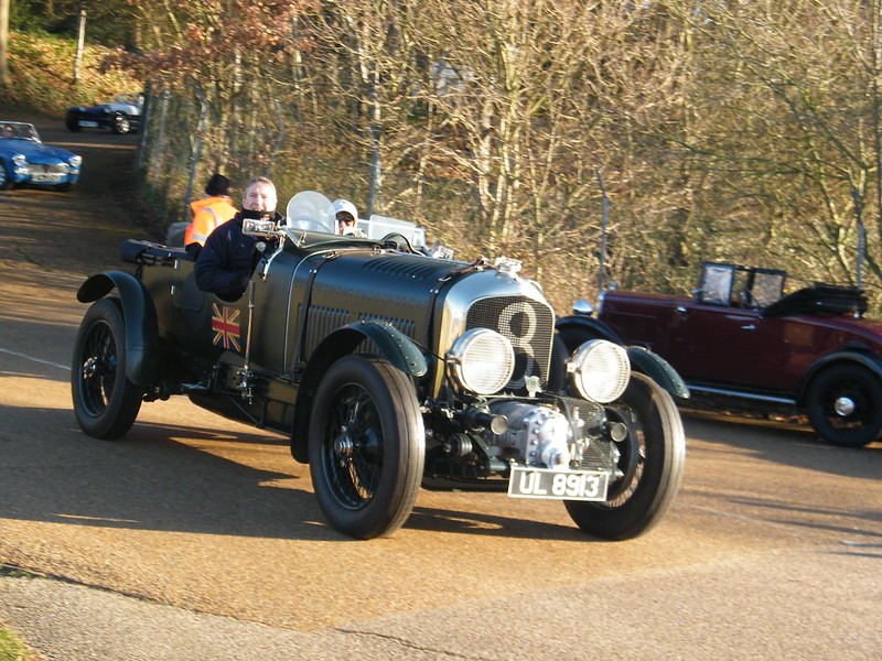 Brooklands New Year's Day 2013 - Bentley