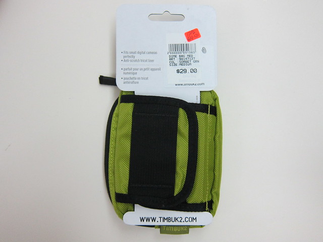 Timbuk2 Dime Bag - Packaging Back
