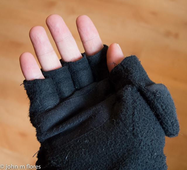 "Gloves + Mittens = ""Glomitts"""