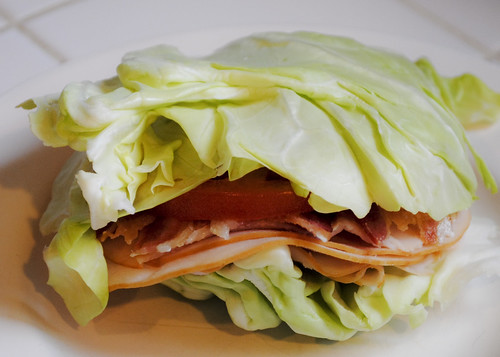 "Cabbage & Turkey ""Sandwich"""