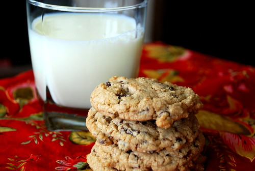 Whole Wheat Chocolate Chip Cookies (that don't taste bad!)