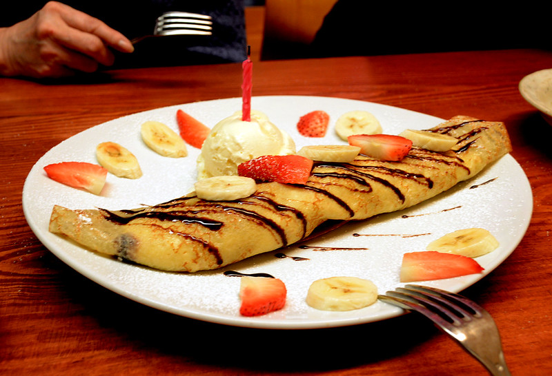 Birthday Crepe