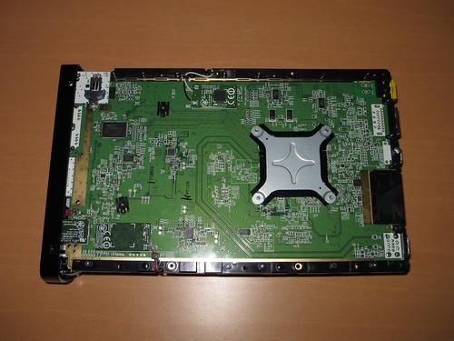 Naked Wii U underside