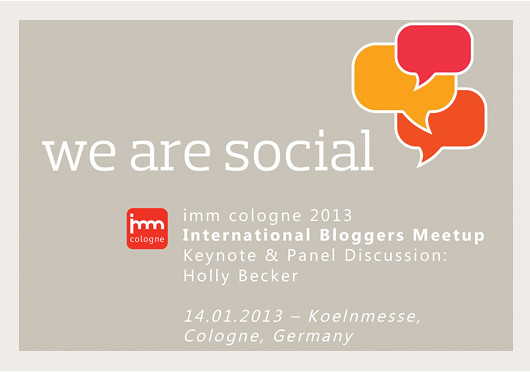 Meet Me & Friends at We Are Social / imm Cologne