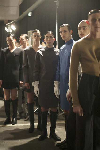 the boys in skirts at J.W. Anderson