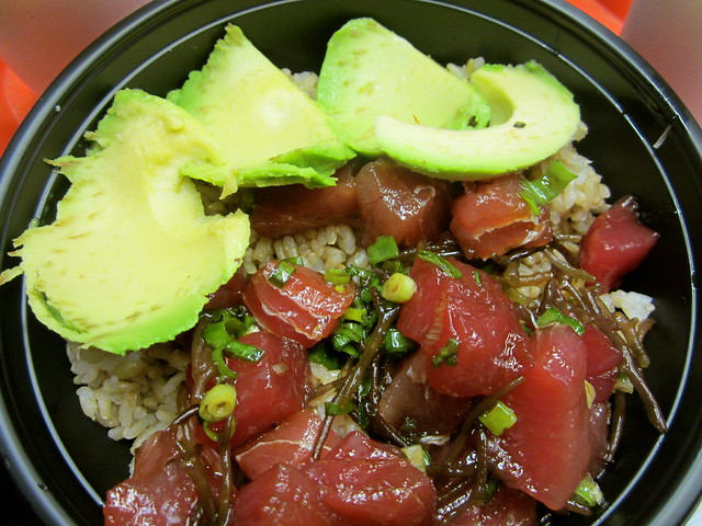 poke Hawaii food