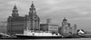 Liverpool Waterfront and Lady of Mann Ferry, 1998