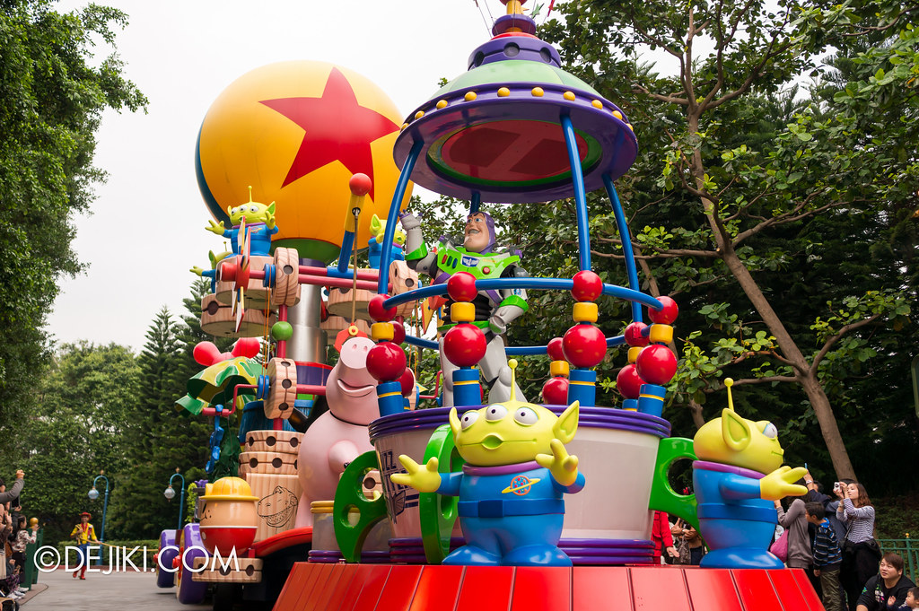 To Infinity and Beyond - Toy Story float