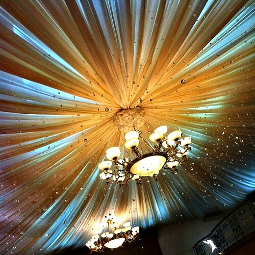 noice ceiling here at cvj! #ksnaps #ksnapsproductions #weddings