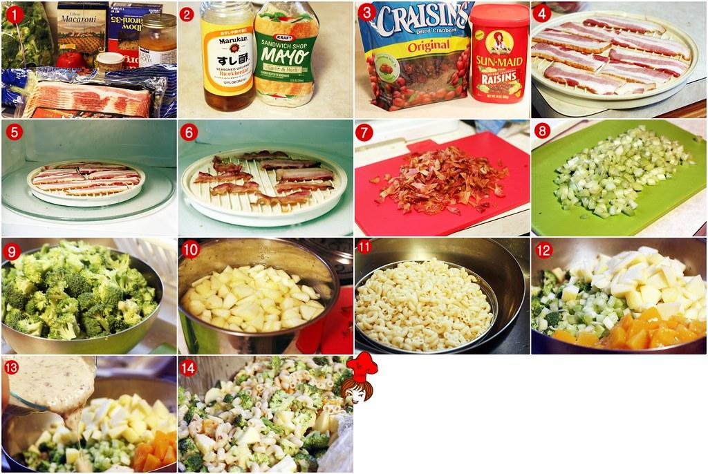 培根義大利麵沙拉  Bacon Spaghetti Salad 2.5