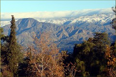 Rim of the Worrld from Caroline Pk, Redlands, CA 12-30-12