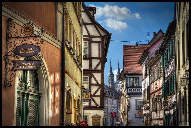 Gasse in Bamberg