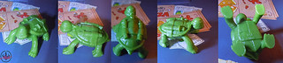 Nickelodeon  TEENAGE MUTANT NINJA TURTLES :: MUTAGEN OOZE xxiv  / BONUS MINI TURTLE LEO  (( 2013 ))