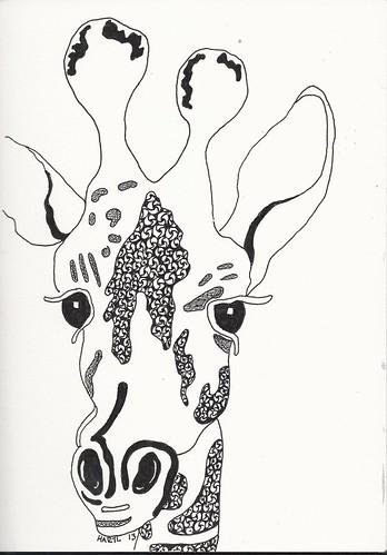 Zen the Giraffe by wiggy81