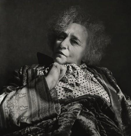 Penn, Irving (1917-2009) - 1951 Colette, Paris by RasMarley