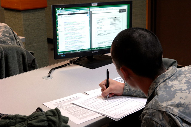 tax center education u s army garrison humphreys south korea 15 january 2013 flickr. Black Bedroom Furniture Sets. Home Design Ideas