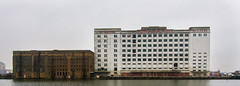 Spiller Millenium Mill viewed from ExCel London