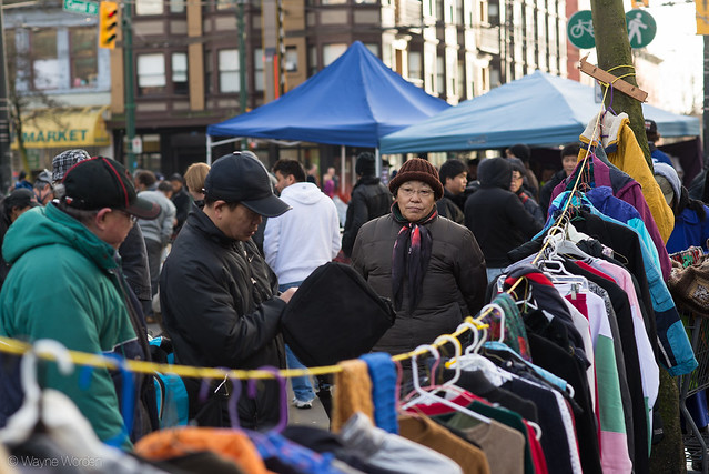 Pigeon Park Sunday Market