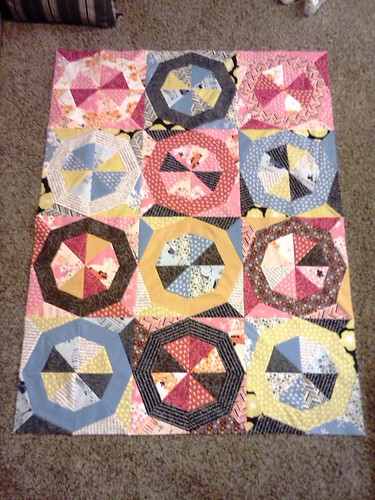 Madrona Road Challenge Quilt Top