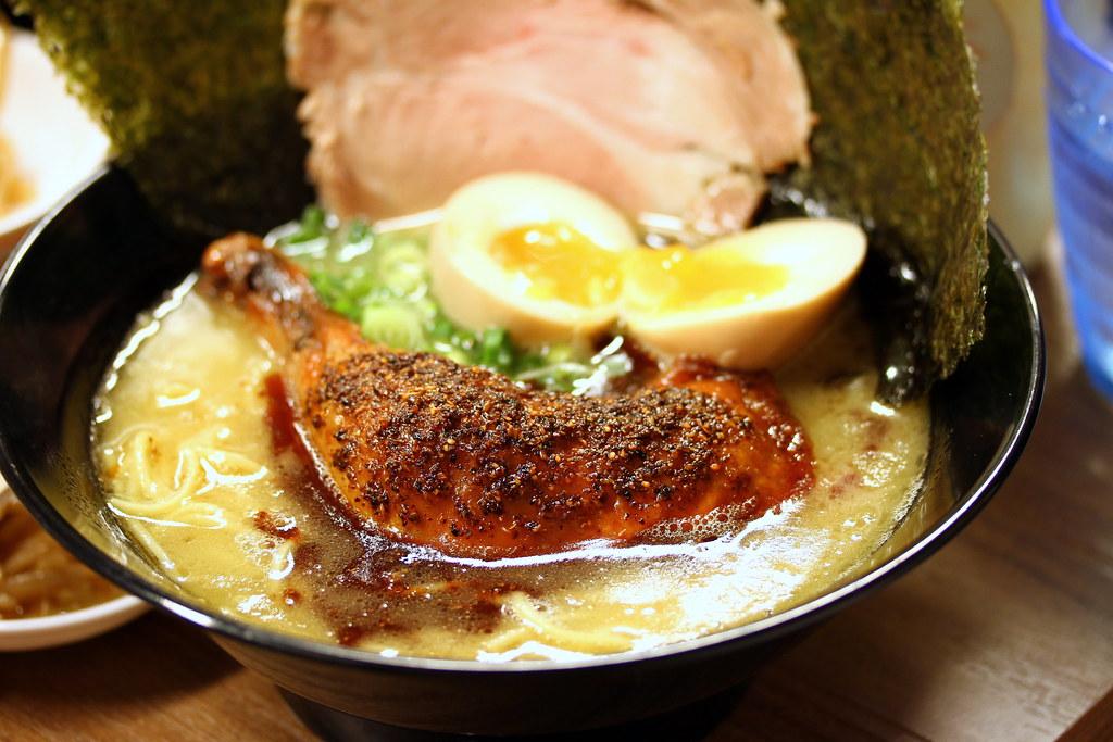 Ramen Keisuke Tori King: Black Spicy Tori King Ramen Special
