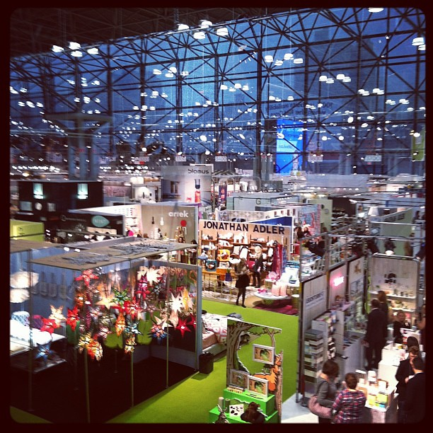 From upstairs #nyigf #newyork #nyc