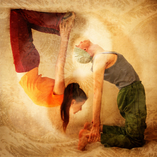 Inspiring Asanas. Heart Openness of Yin & Yang Kind by Katrin Ray