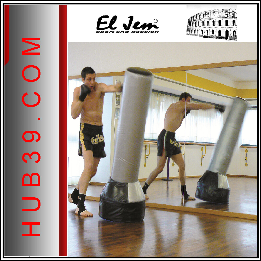 boxe sac de frappe el jem made in italy neuf h 150 sac de. Black Bedroom Furniture Sets. Home Design Ideas