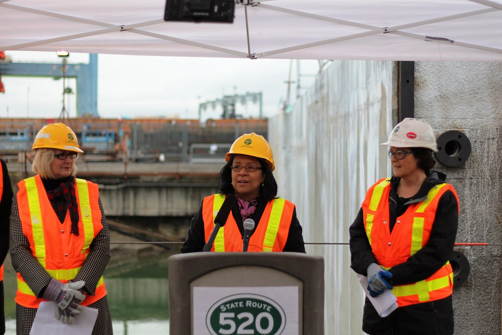 Tacoma Mayor Marilyn Strickland speaks