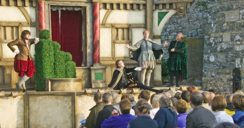 Outdoor Theatre in Guernsey