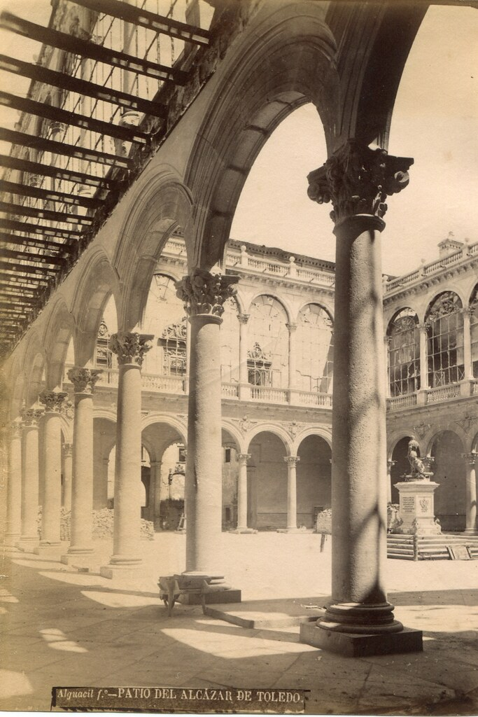 Alcázar hacia 1887. Fotografía de Casiano Alguacil
