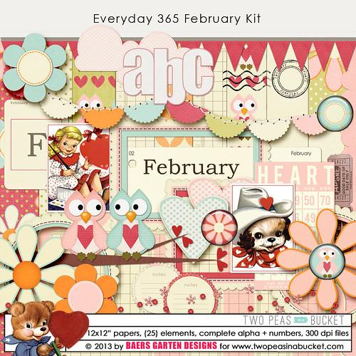 Everyday 365 February Kit