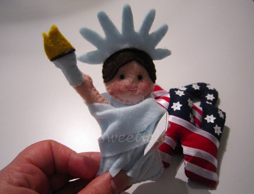 ♥♥♥ Welcome to the Statue of Liberty! by sweetfelt \ ideias em feltro