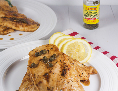 Chicken Piccata #weekdaysupper #sauteExpress