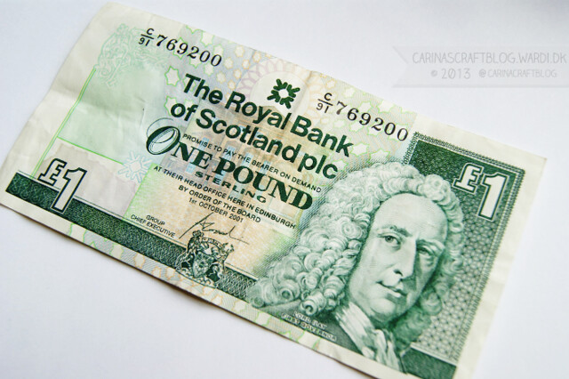 1 pound from Scotland