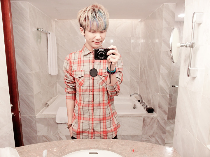 typicalben mirror shot regent taipei hotel