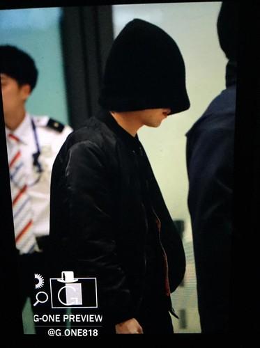 BIGBANG arrival Seoul 2015-10-26 g-one